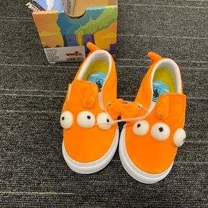 The Simpsons Vans Blinky shoe, size 8, NWT